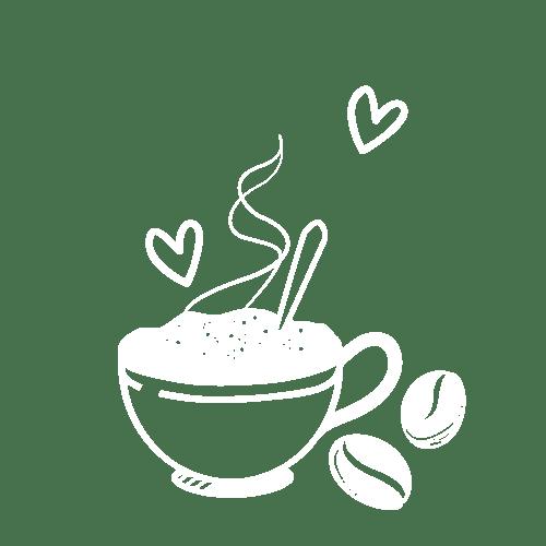 einen Kaffee